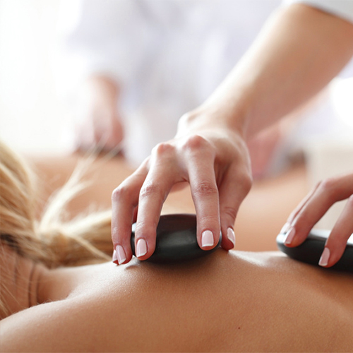 Massage im Zentrum Linz - Hot-Stone-Massage